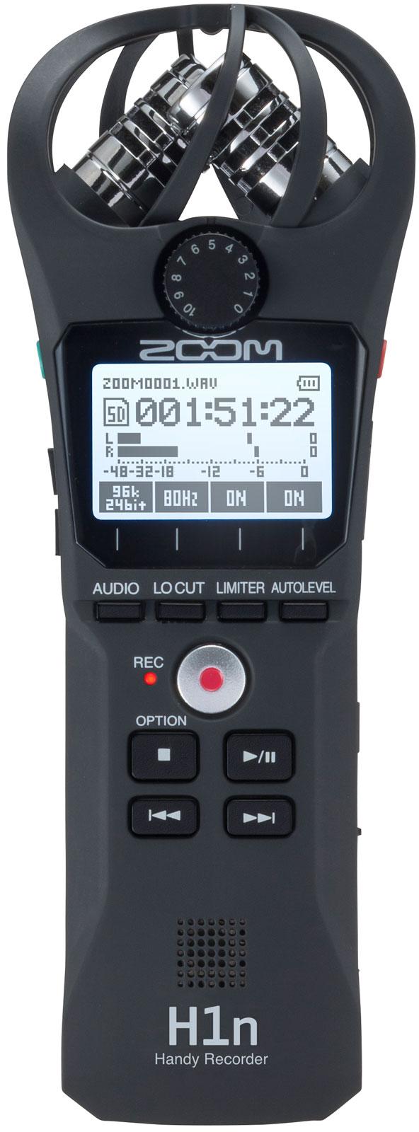 Zoom H1n Portabler Audio Recorder