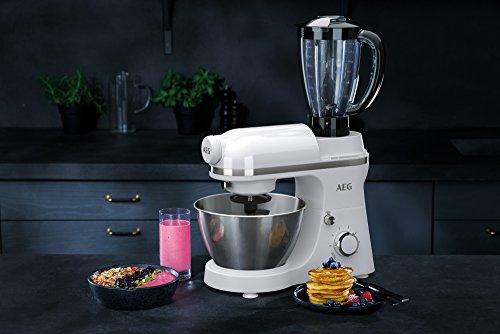 AEG Küchenmaschine 3Series KM3200 inkl. Standmixer-Aufsatz [amazon.de]