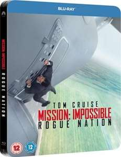 Mission Impossible Rogue Nation (Blu-ray + Steelbook) für 6,20€