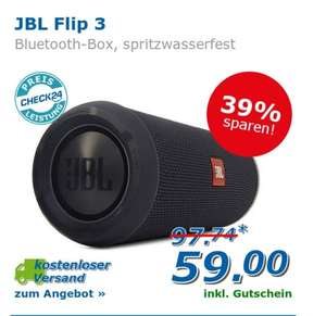 JBL Flip 3 - Check24 Newsletter
