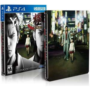 Yakuza Kiwami Day One Edition Steelbook Edition (PS4) für 20,88€ (Shop4DE)