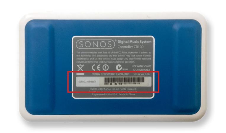 Sonos CR100 Recycling/ Gutschein 125 Euro
