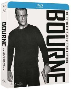 Jason Bourne 1-5 Ultimate Collection 1-5 Blu-Ray mit deutschem Ton