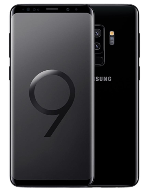 Samsung Galaxy S9+ DuoS (G965F) 64GB schwarz NEUWARE für 789€