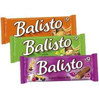Balisto versch. Sorten 9er-Packung für 0,99€ bis 20.03.18 bei Jawoll