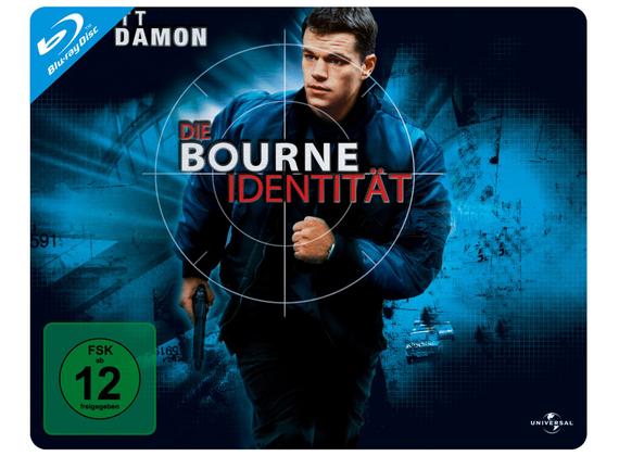 Die Bourne Identität - Quer-Steelbook für 5,57€ (Dodax)