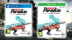 Burnout Paradise Remastered (PS4 und Xbox One)