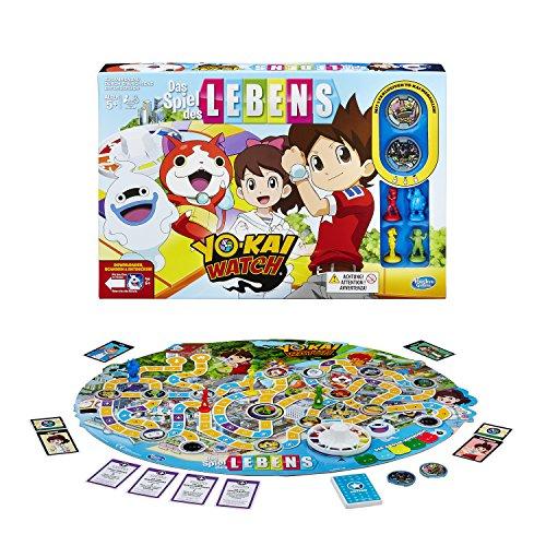 Hasbro Spiele B6493100 - Spiel des Lebens Yokai Watch, Familienspiel für 5,37 € [Plus-Produkt]