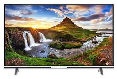 B-Ware - Telefunken XU55D101 LED Fernseher 55 Zoll 4K Ultra HD TV Triple Tuner schwarz