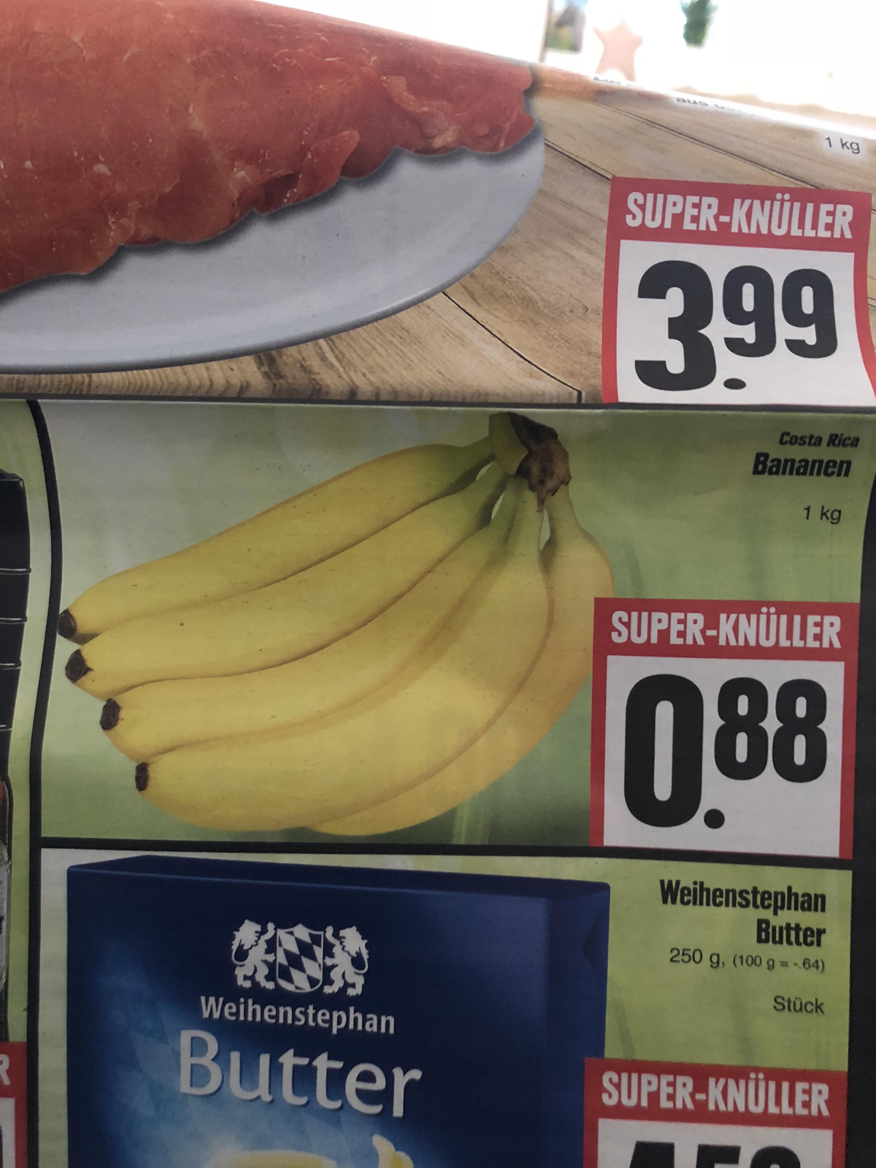 [Lokal Edeka Hessenring] Bananen für 0,88 €