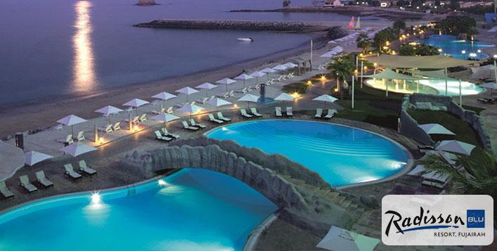 Fujairah (Vereinigte Arabische Emirate):  5 Sterne Hotel mit HP, Meerblick inkl Flug für 2 Personen von Leipzig, DD, Hannover, München oder Nürnberg