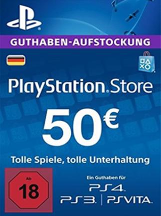 50€ PSN Guthaben für 40,27€ (G2A)