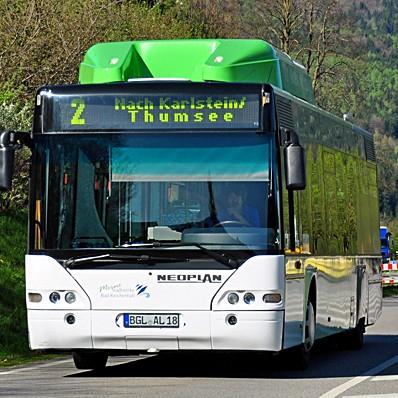 [lokal Bad Reichenhall] Alle Linien- und Citybusse 2 Wochen kostenlos nutzen