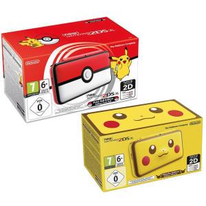 Nintendo New 2DS XL Pokeball Edition & New Nintendo 2DS XL Pikachu Edition für je 111€ (Amazon) *Mein 3k Deal*