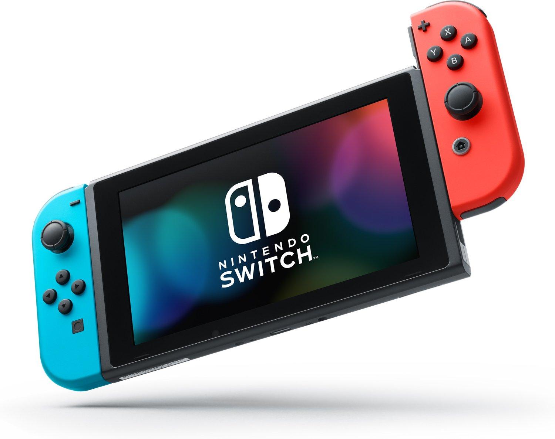 Nintendo Switch Neon-Rot/Neon-Blau für 271,99 bei Filialabholung [Karstadt]
