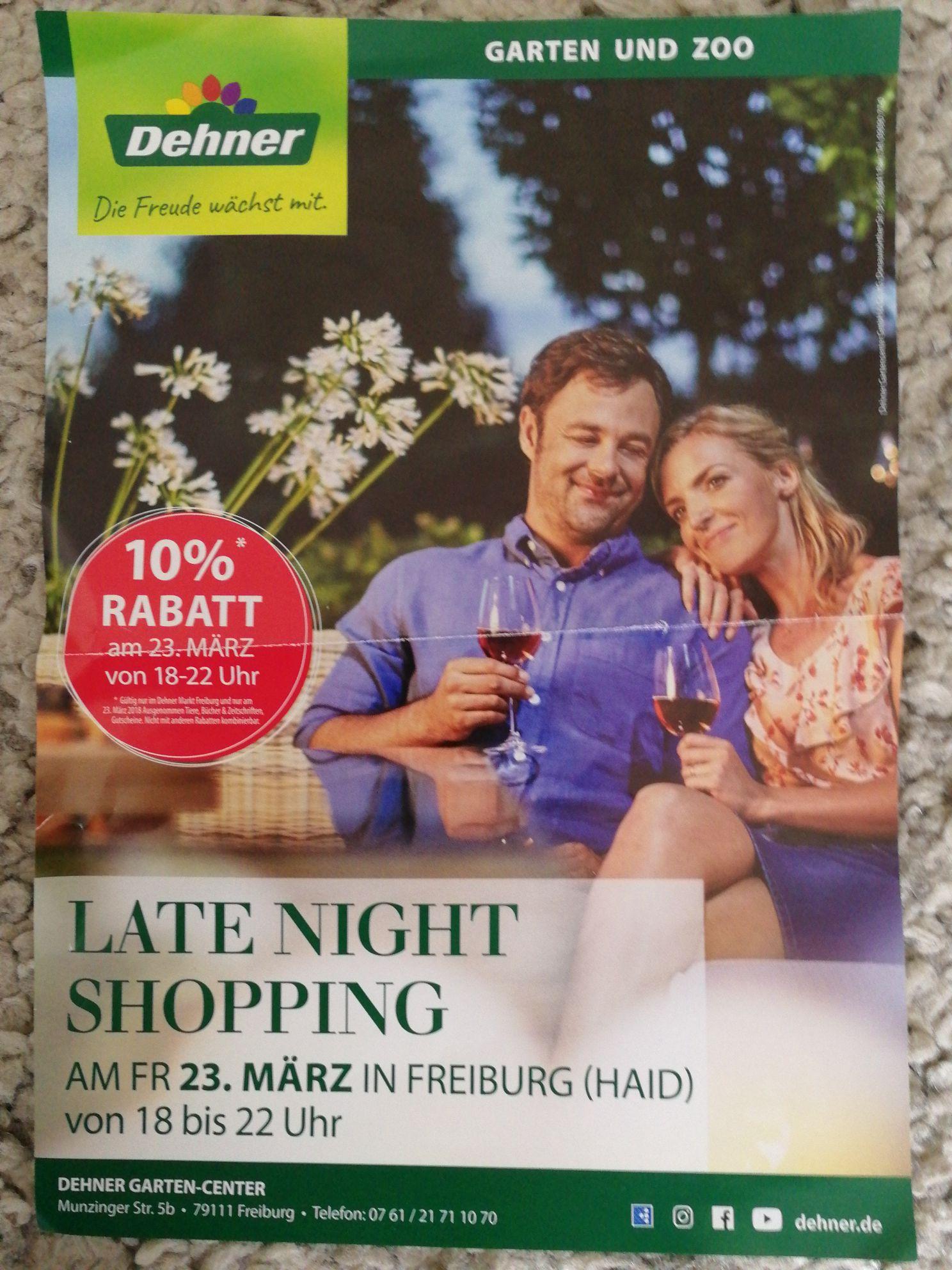 Lokal Dehner Freiburg 10% Rabatt
