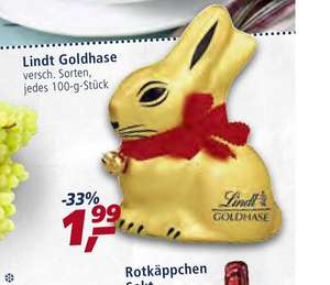 REAL -  Lindt Hase 100gr / Landliebe 6x H- Milch + GS