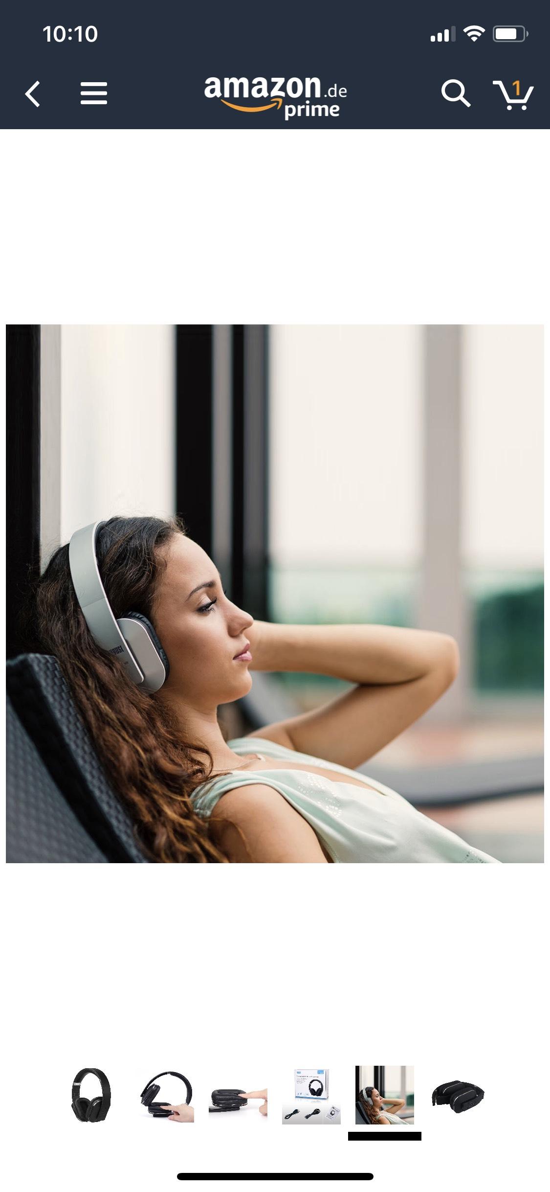 August EP 650 Bluetooth NFC Kopfhörer