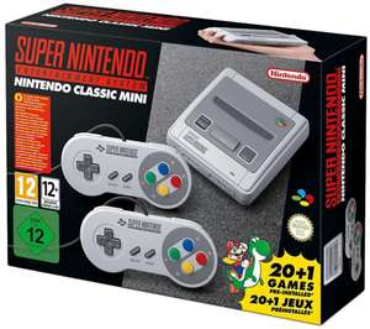 [real] Super Nintendo Classic Mini SNES Konsole für 72€ + bis zu 3,60€ über Payback