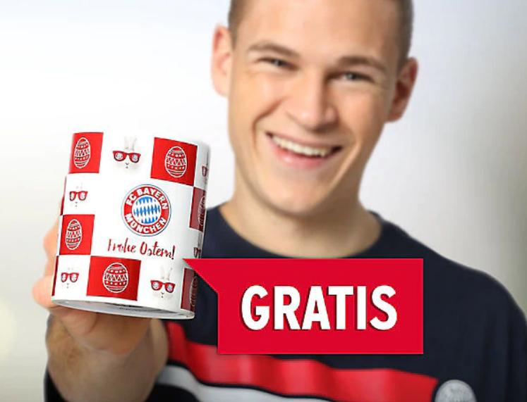 Nur Heute - Gratis Tasse im FC Bayern Shop (MBW 20€)