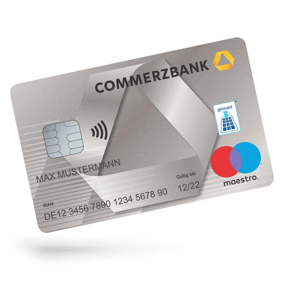 Kostenloses Girokonto bei der Commerzbank mit 100€ Startguthaben und 50€ KwK (0,01€ Mindestgeldeingang)