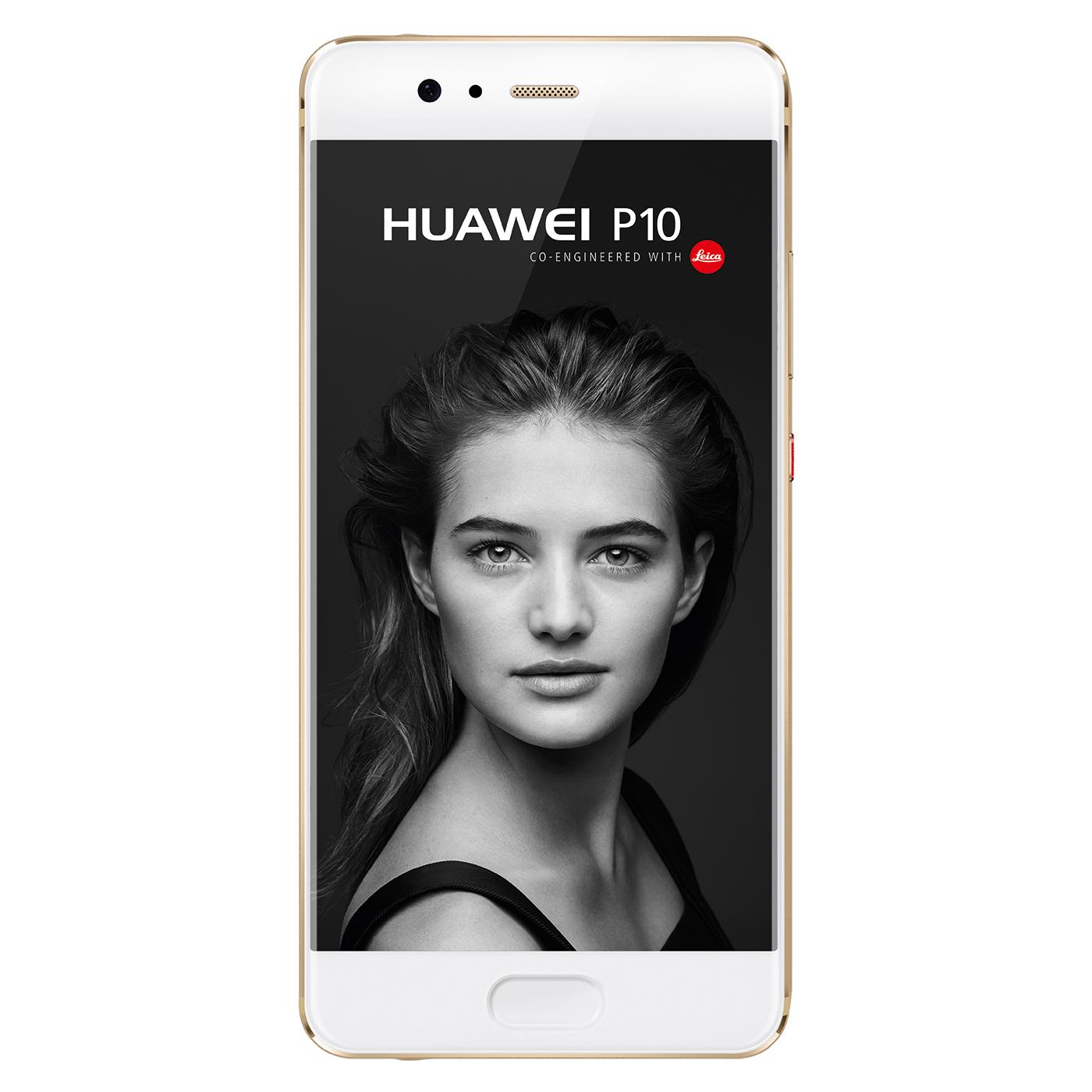 "HUAWEI P10 - 5,1"" Full HD Smartphone (1920x1080, 64 GB, 4GB RAM, 20/12/8MP, Single SIM, 3200 mAh, Android 8) in Graphite Black oder Prestige Gold [nbb]"