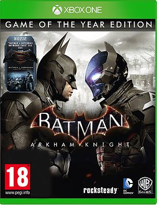 Batman: Arkham Knight Game of the Year Edition (Xbox One) für 12,89€ (Gameware)