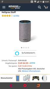 [Amazon] Echo 2. Generation Osterangebot