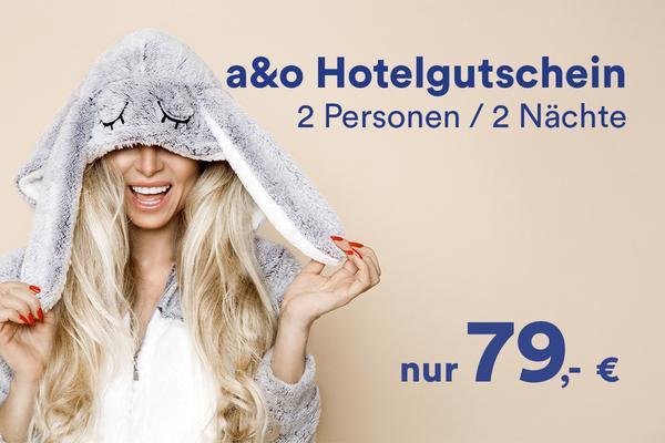 A&O Osterdeal 2018 - Hotelspecial - 79€ für 2 Personen
