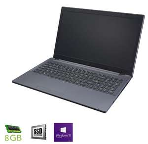 "Gaming Work Notebook 15.6"" Full-HD IPS, i3-7100 2/4x 3.90GHz , 8gb DDR4 RAM, GTX 1050 TI 4gb, 240gb SSD, FreeDOS (4 Jahre Garantie, konfigurierbar)"