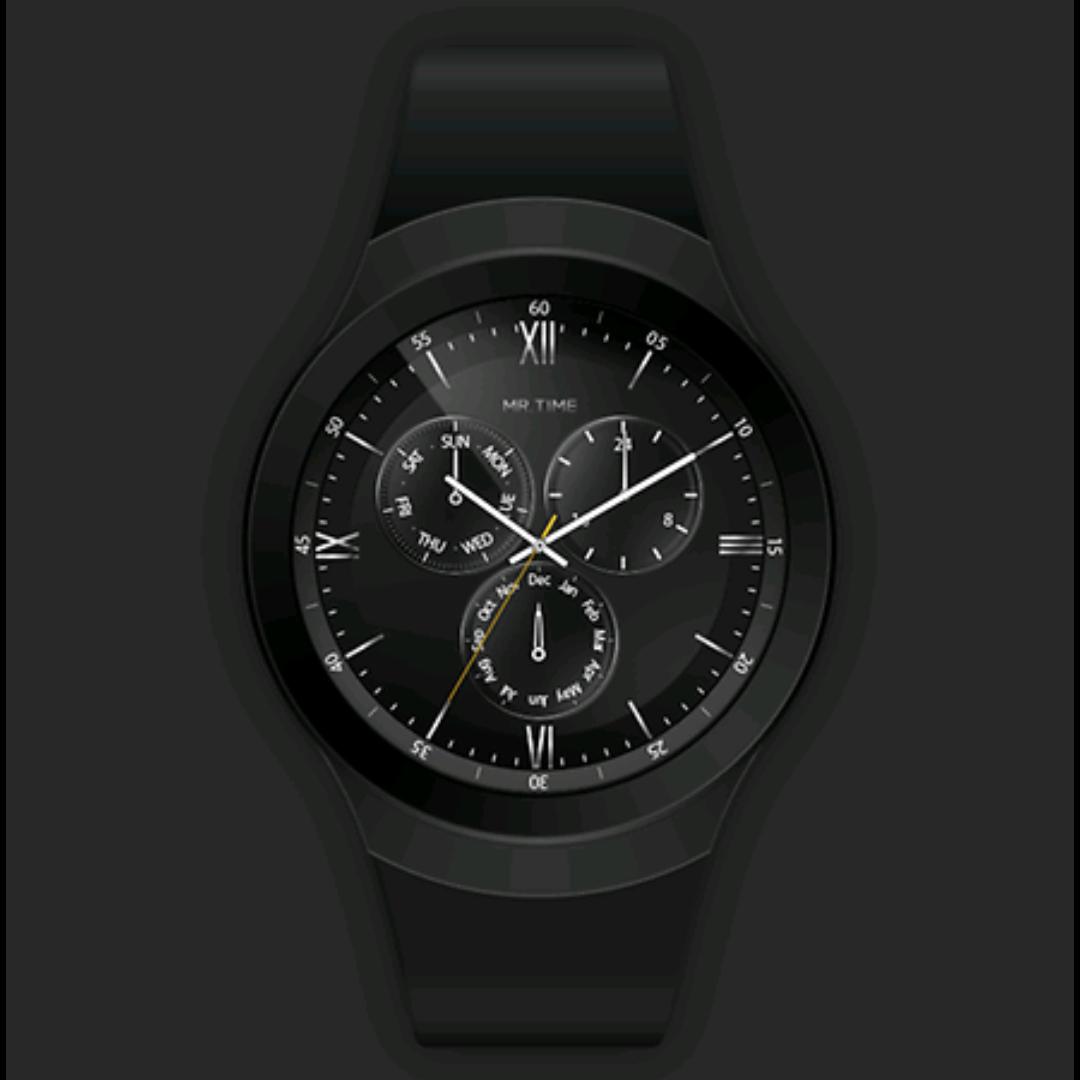 [Samsung Galaxy Apps] Gear S3 3 Stück watch faces Mr. Time kostenlos statt je 1,71 €