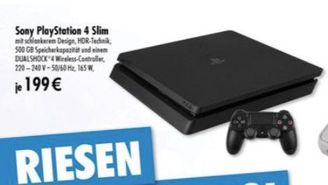 [Lokal Tedi 44287 Dortmund-Aplerbeck] - Sony Playstation 4 Slim 1TB (ab 20.03.2018)