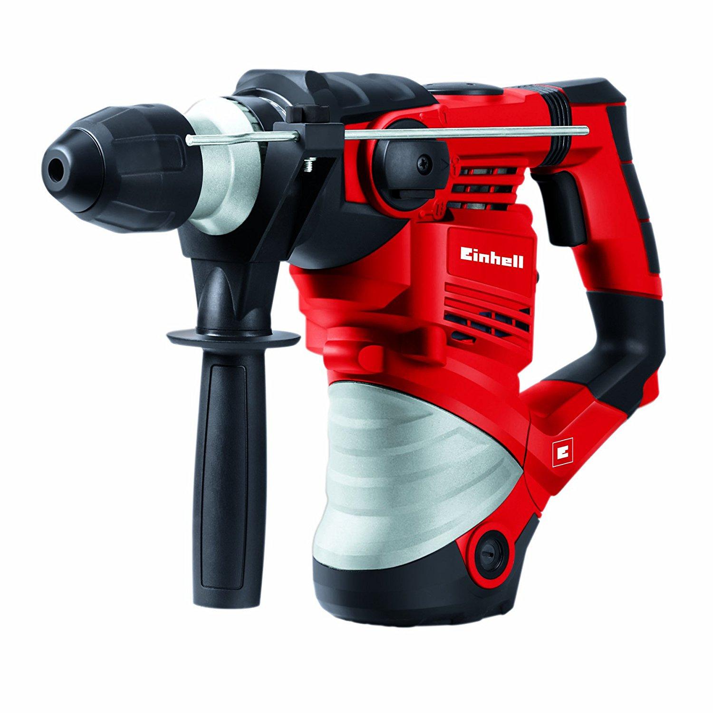 Einhell TH-RH 1600 4-Funktions-Bohrhammer, 1.600 W, Schlagzahl 3.900 min-1, Schlagstärke 4 J, SDS-Plus, Schlag- Drehstop, im Koffer