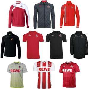 1.FC Köln Sale - Erima Trikots, Sweater, Trainingsjacken etc.