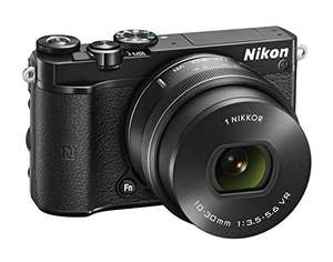 [Amazon Warehouse] Nikon 1 J5 Systemkamera Kit inkl. 10-30 mm PD-Zoom Objektiv schwarz