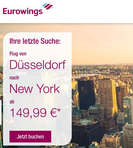 Flüge: Düsseldorf - New York: Viele Direktflüge im Mai / Juni ab 298 €