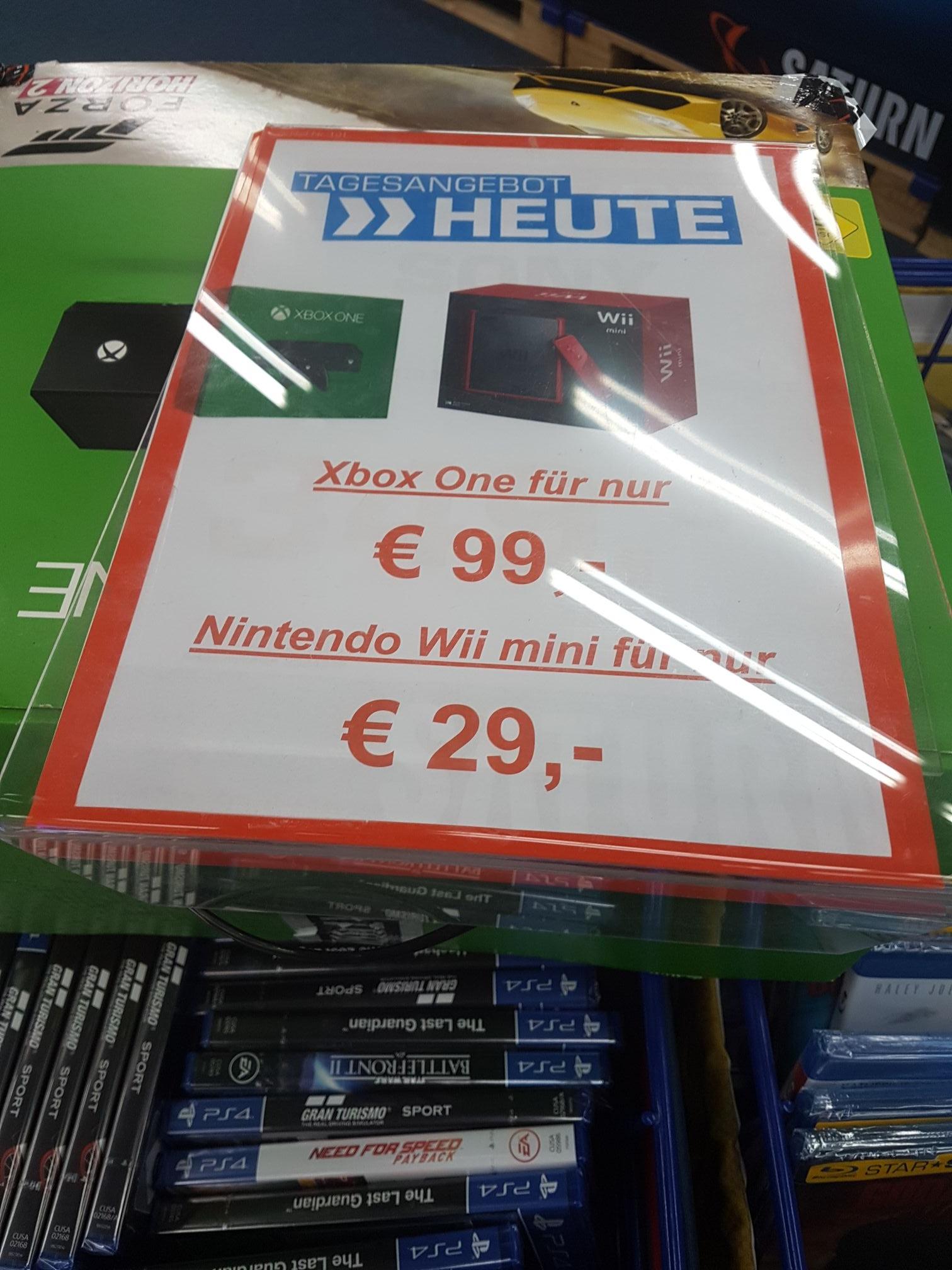 Wii Mini Für 29u20ac Und Xbox One Für 99u20ac (Lokal Bad Homburg Saturn