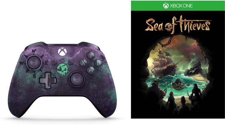 Xbox One Controller + Sea of Thieves für 46,40€ (Microsoft mit Nokeys)