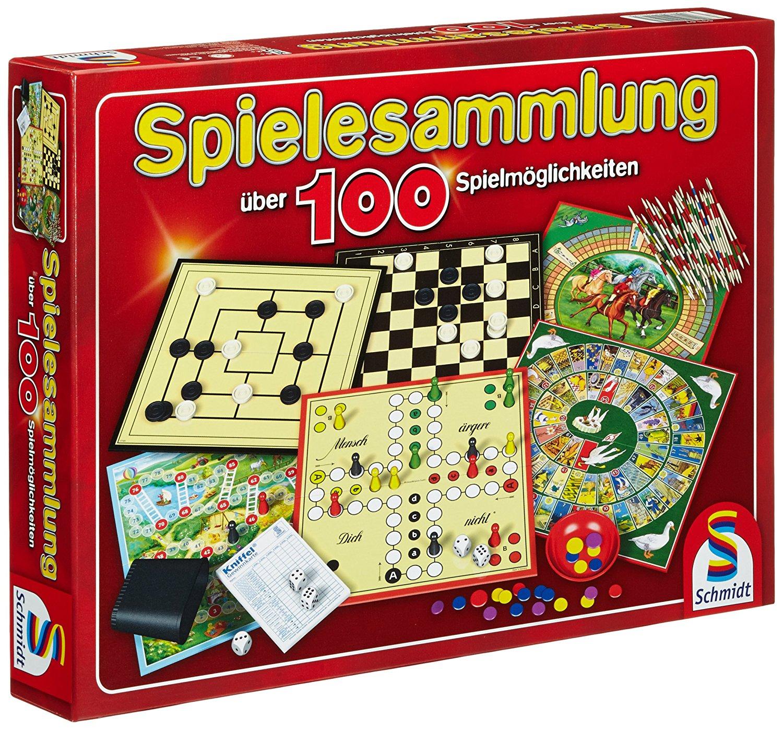 Schmidt-Spiele Spielesammlung 100 für 11,49€ (Amazon Prime)