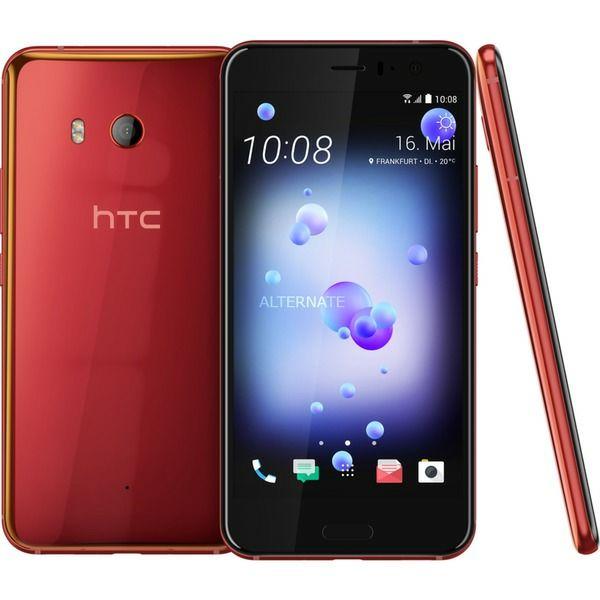 HTC U11, Dual-Sim, rot