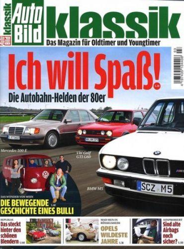 Auto Bild Klassik Abo (12 Ausgaben) für 51,60 € mit 45 € Verrechnungsscheck