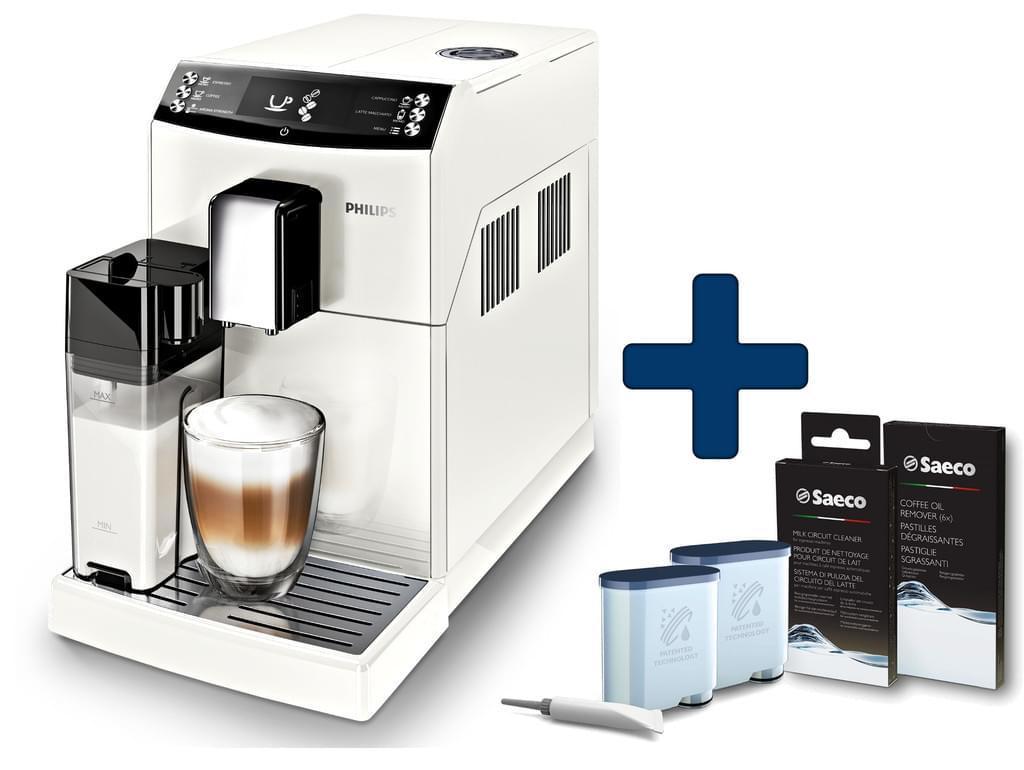 Philips Kaffeevollautomat EP3362/00 + Saeco CA6707/00 Wartungskit bei Real online