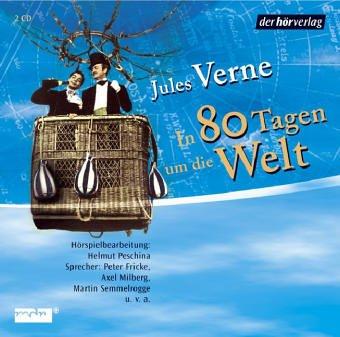 Gratis Hörspiele: Jules Verne - In 80 Tagen um die Welt + 20.000 Meilen unter den Meeren