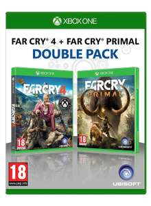 Far Cry 4 + Far Cry: Primal Double Pack (Xbox One) für 24,33€ (MyMemory & Amazon FR)