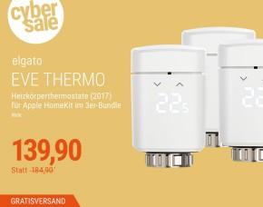 [Cyberport] Eve Thermo 3er Pack (Noch 5x verfügbar)