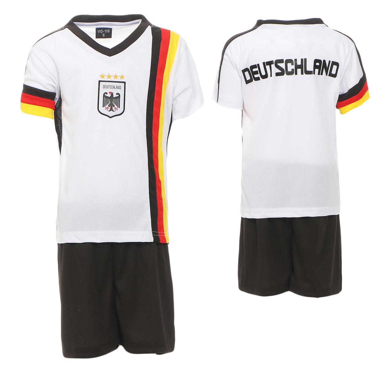 Deutschland Kinder Klamottenset für WM 2018 98-104/ 110-116/122-128/134-140/146-152 ab 9,06€ inklusive Versand