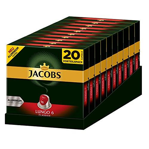 [amazon Sparabo] 10x20 Jacobs Kapseln Lungo Classico