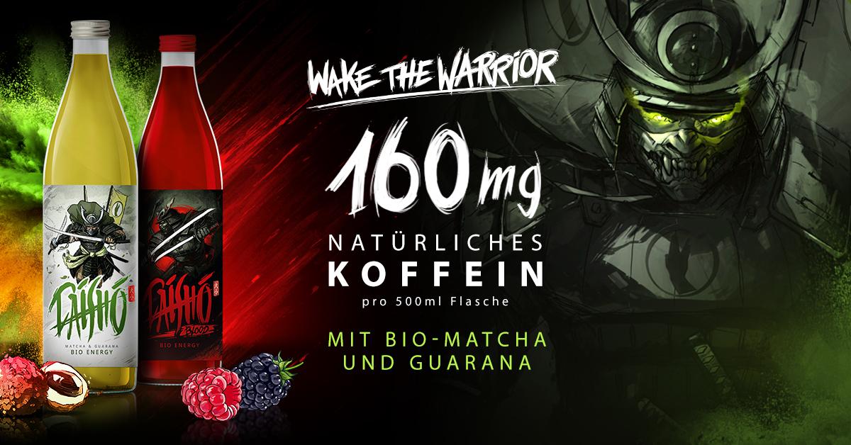 Daisho Bio-Energy (0,5l) by Attila Hildmann bis Mitternacht -40% [www.attilahildmann.de]