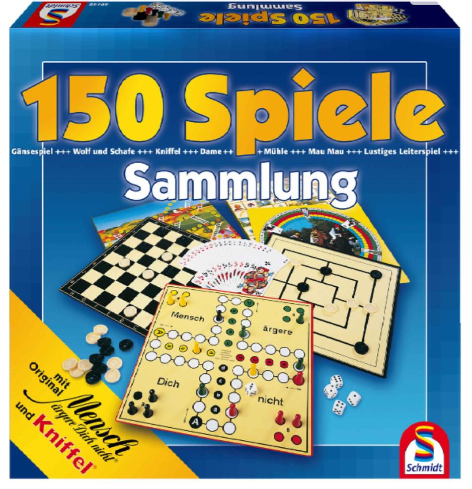 Spielesammlung 150 - Abholung Galeria Kaufhof (Inkl. Lieferung 10,94€)
