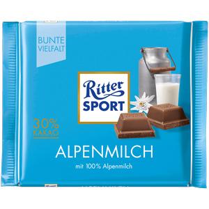 Ritter Sport Bunte Vielfalt - versch. Sorten - 100 gr